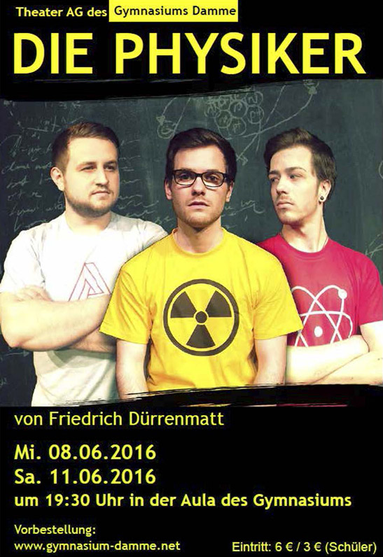 Die Physiker, 2016, Damme, Theater AG