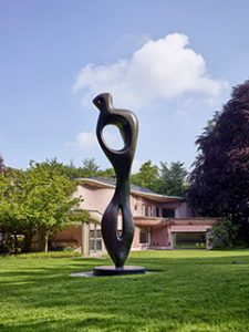 Henry Moore, Large Interieur Form,1981/1982 Foto: (c)The Henry Moore Foundation