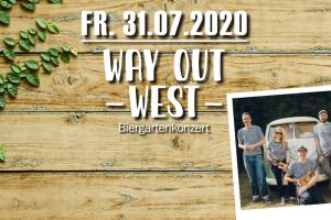 Way Out West – Biergartenkonzert